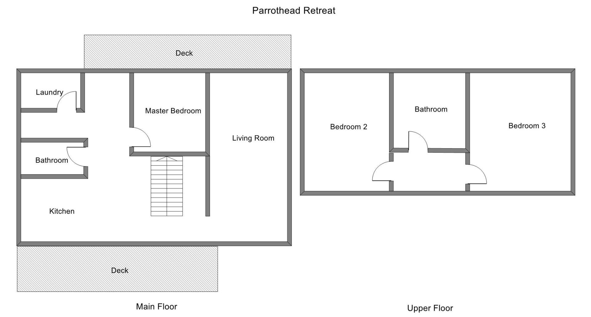 Floor Plan for Shared Private Lake Michigan Beach Access!