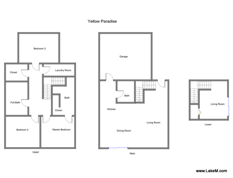Floor Plan for Vacation Rental with Private Beach and Stunning Lake Michigan Views!
